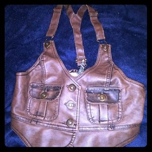 Crop leather